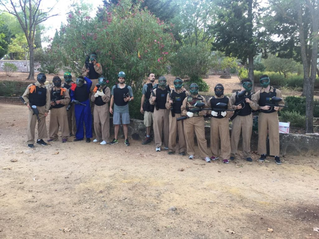paintball en ronda