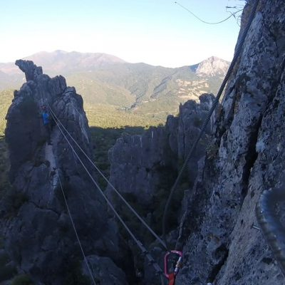 VIA FERRATA CASTILLO GAUCIN